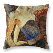 Young Girl  56901247 Throw Pillow