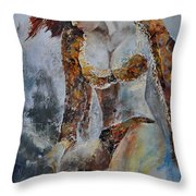 Young Girl 670508 Throw Pillow