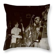 Young Horseshoes Throw Pillow