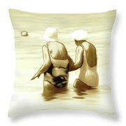 Young Minds Throw Pillow