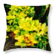 Young Plant Throw Pillow