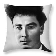 Young Robert Oppenheimer Throw Pillow