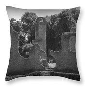 Young Ruins Throw Pillow