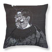 Young Tane Throw Pillow