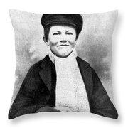 Young Thomas Edison, 1861 Throw Pillow