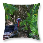 Young Tom Throw Pillow
