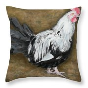 Young Upstart Throw Pillow