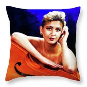 Young Woman Nude 1729.199 Throw Pillow