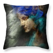 Your Angel Passed Nearby Throw Pillow