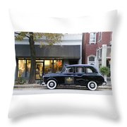 Your Cab Just Arrived Throw Pillow