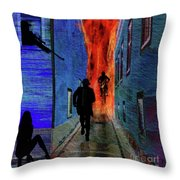 Your Fired Throw Pillow
