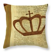 Your God Reigns Throw Pillow