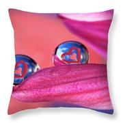 Your Heart My Heart Throw Pillow