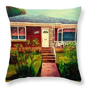 Your Home Commission Me Throw Pillow
