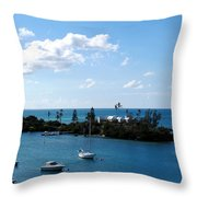 Your Island In The Sun Throw Pillow