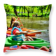 Your Journey Throw Pillow