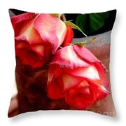 Your Love On Fire Throw Pillow