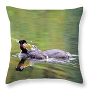 Your Making To Much Noise Throw Pillow