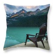 Your Next Vacation Spot Throw Pillow