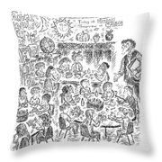 Your Parents Are Eager For Deliverables Throw Pillow