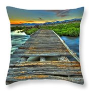 Your Path Lies Before You Throw Pillow
