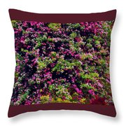 Your Spring Bed Throw Pillow