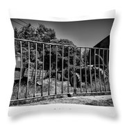Your Time Is Gonna Come Throw Pillow by Joseph Amaral