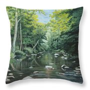 Your Waters Are Purest Throw Pillow