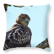 You're Still Here Throw Pillow
