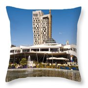 Youth Park Throw Pillow