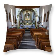 Ysleta Mission #2 Throw Pillow