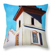 Ysleta Mission Throw Pillow