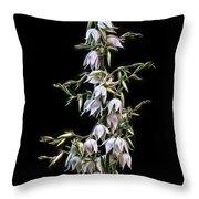 Yucca Art Throw Pillow