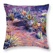 Yucca In Monument Valley Throw Pillow