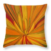 Yucca Plant Throw Pillow