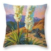 Yuccas Throw Pillow