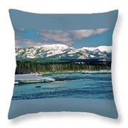 Yukon River Throw Pillow
