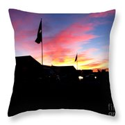 Yuma Sky Throw Pillow