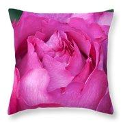 Yves Piaget Rose Throw Pillow