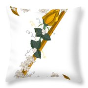 Z Is For Zest For Living Throw Pillow