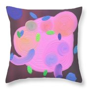 z1245d Play Throw Pillow