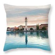 Zaante Town, Zakinthos Throw Pillow