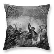 Zachary Taylor , 1784-1850 Throw Pillow