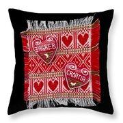 Zagreb Love Throw Pillow