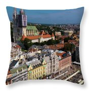 Zagreb Throw Pillow