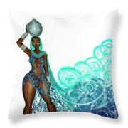 Zahirah Throw Pillow
