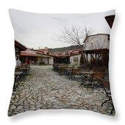 Zahire Pazaar Mugla Turkey Throw Pillow