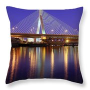 Zakim At Twilight II Throw Pillow