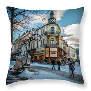 Zakopane-03 Throw Pillow
