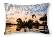 Zambezi Sunset Throw Pillow